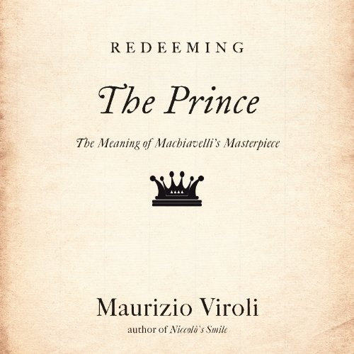 Redeeming 'The Prince' audiobook cover art