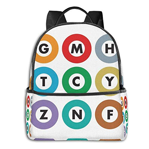 XCNGG Tokyo Metro Student School Bag School Cycling Leisure Travel Camping Outdoor Backpack