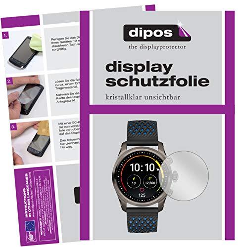 dipos I 6X Schutzfolie klar kompatibel mit Montblanc Summit 2 Folie Bildschirmschutzfolie
