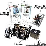 Produit en français 6 Boosters Final Fantasy Français, 2 decks prêts à jouer différents en français, 1 paquet de 60 protège-cartes Officielles Final Fantasy, 1 lot de 200 cartes Final Fantasy communes et rares (possibilité de cartes en plusieurs exem...