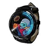 Among Us Reloj Reloj LED Pantalla táctil a Prueba de Agua Luz Digital Reloj Reloj de Pulsera Unisex Cosplay Regalo Nuevos Relojes de Pulsera Regalo para niños-A030