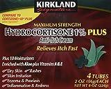 Best Hydrocortisone Creams - Kirkland Hydrocortisone %1 Cream 4 Tubes 2oz Each Review
