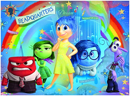 Ravensburger Disney Inside Out Mixed Emotions 100 Piece Jigsaw Puzzle for Kids – Every Piece is Unique, Pieces Fit Together Perfectly