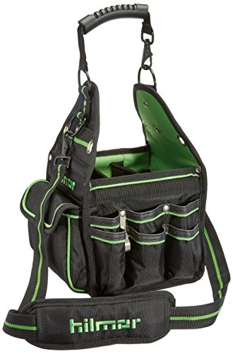Hilmor HVAC/R Tote, HVAC Bag for Tools & Equipment, Black & Green, HT 1839078