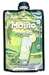 REAL MINT LEAVES - The Lt. Blender's Mojito in a Bag has real mint leaves and fresh lime, Lieutenant Blender's version of the infamous Cuban cocktail will make you feel as if you're lounging in a cabana on South Beach. STRAIGHT INTO THE BAG - You jus...