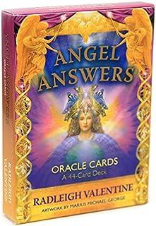 エンジェルアンサーズオラクルカード卓上カードゲームタロットカードファミリーパーティーゲーム楽しいゲームカードセットカードボードゲーム