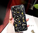 JAWSEU Glitter Cover per Samsung Galaxy A20,Custodia Galaxy A30 Trasparente TPU Morbido Si...