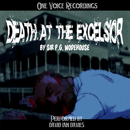 Death at the Excelsior audiobook cover art