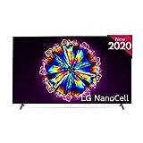 LG 86NANO906NA - Smart TV 4K UHD NanoCell 217 cm (86') con Inteligencia Artificial, Procesador Inteligente α7 Gen3, Deep Learning, 100% HDR, Dolby Vision/ATMOS, 4xHDMI, 3xUSB 2.0, Bluetooth 5.0, WiFi