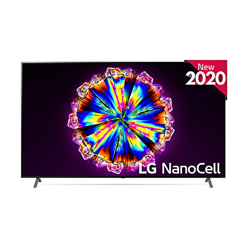LG 86NANO906NA - Smart TV 4K NanoCell 217 cm (86') con Inteligencia Artificial, Procesador Inteligente α7 Gen3, Deep Learning, Full Array Dimming, 100% HDR, Dolby Vision/ATMOS, Compatible con Alexa
