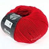 Lana Grossa Cool Wool 417 - Leuchtendrot