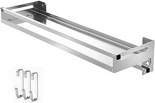 CONGZWJ Rack de Especias para baño/Cocina montado en la Pared o para Puertas de alacenas para frascos o Paquetes de Hierba...