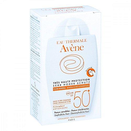 AVENE Mineralisches Sonnenfluid SPF 50+ ungetönt 40 ml