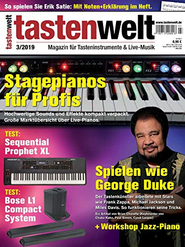 George Duke Workshop Marktübersicht Stagepianos Klavier Piano Keyboard