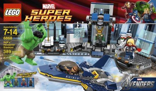 LEGO Hulk Helicarrier Breakout 6868 by LEGO