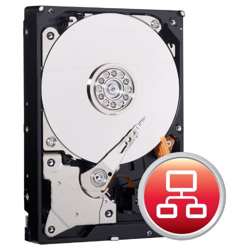 Western Digital IntelliPower SATA 6Gb/s 64MB NAS (2TB 3, 5 Zoll / 12,7 cm) Rot