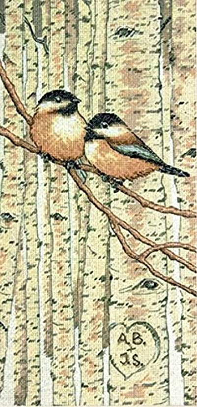 Dimensions Needlecrafts Counted Cross Stitch, Love Birds