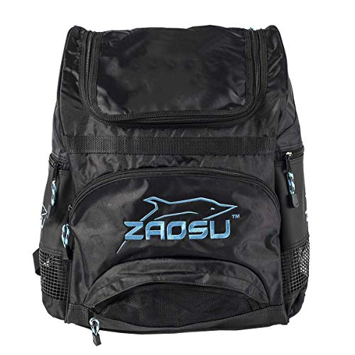 ZAOSU Teamline Rucksack fürs Training im Schwimmen und Triathlon - 40 Liter, Farbe:blau