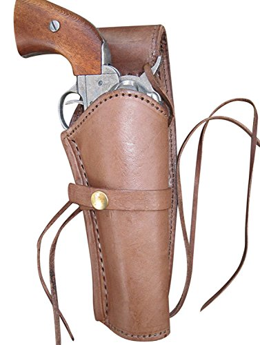 Leather Gun Holster for .38 Caliber and .357 Caliber...