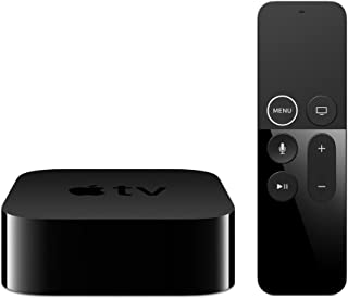 Apple TV 32GB 1080p HD Streaming Media Player with Dolby Digital and Voice Search by Asking The Siri Remote (4th Generation), Black (Renewed)
