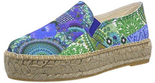Desigual Damen Shoes SOL Espadrilles, Türkis (5024), 41