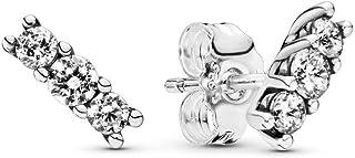 comprar comparacion Pandora Pendientes de botón Mujer plata - 290725CZ