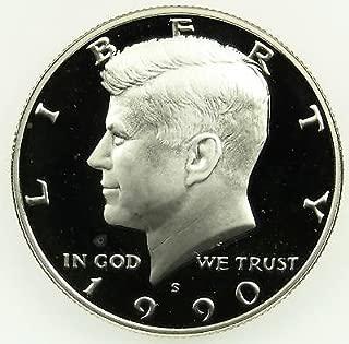 1990 kennedy half dollar