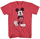 Disney Men's Full Size Mickey Mouse Distressed Look...
