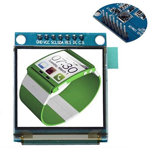 DIYmall 1.5 inch Colorful OLED SSD1351 128X128 Resolution for 51 STM32 Arduino