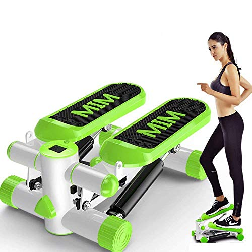 Best Bargain MGIZLJJ Mini Stepper,Mini Fitness Exercise Machine-Mini Elliptical Foot Pedal Stepper, ...