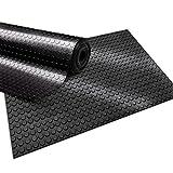 nombreux mod/èles et tailles antid/érapant isolant 150x250cm Rev/êtement de sol etm/® tapis caoutchouc tapis noir diamant r/ésistant int/érieur ou ext/érieur