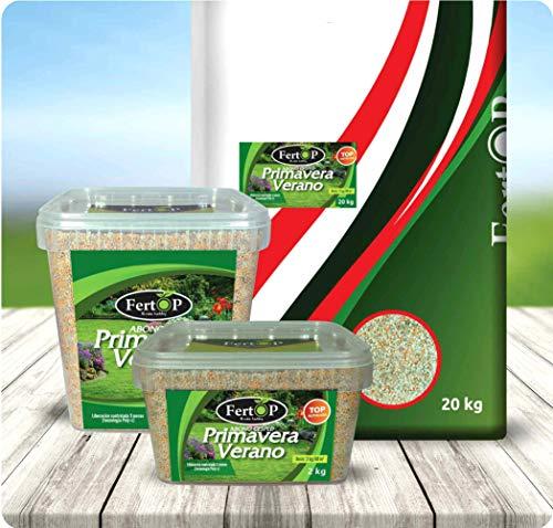 FertOP® - Abono para Césped, Primavera-Verano, Fertilizante de Liberación Lenta, 3 Meses....