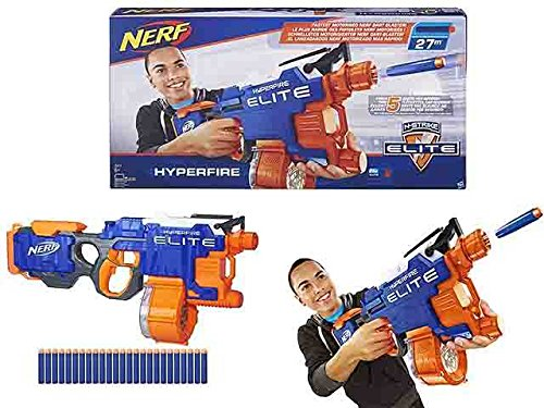 Gewehr Nerf Hyperfire Spiel Spielzeug Geschenk # AG17