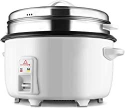 Lcxliga Rice Cooker Large Capacity Canteen Hotel Commercial 8-45 Liters 10-20-30-40-50-60 People Hotel Rice Cooker (Size : 10L)