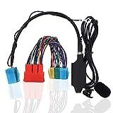 Adaptador de o Bluetooth para Coche, Adaptador de Cable Auxiliar con Altavoz, estéreo para Coche, Compatible con A2 A3 8L 8P A4 B5 B6 B7 A6