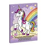 DEKORA Unicorn Arcobaleno Calendario dell'Avvento Cioccolata al Latte Natale 2020