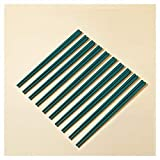 Palillos De Porcelana Verde De KSGH, Palillos Chinos Del Hueso De Los, Reutilizables De Los Palillos De Cerámica Set De Los Palillos De Los Palillos Japoneses De Sus green-10pair