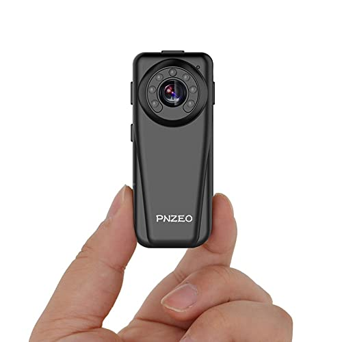 PNZEO F5 Mini Camera 1080P Full HD IR Night-Vision Camera The Portable Camera Recorder Wide-View-Angle Sports Cameras Body-Worn Camera Action-Video-Cameras