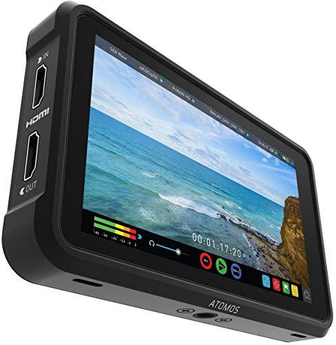 Atomos Ninja V videograbador digital Negro - Capturadora de video digital (Negro, 4096 x 2160 Pixeles, 1920 x 1200 Pixeles, 12 canales, 16:9, 2,5 h)