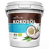 Nutriverde BIO Kokosöl - KOCHEN, BRATEN, BACKEN + HAAR- & HAUTPFLEGE bio, nativ, kaltgepresst - Im Schraubglas