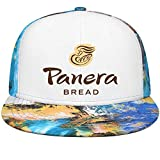 UONDLWHER Adjustable Unisex Panera-Bread-Logo- Cap Fitted Sun Hats Blue