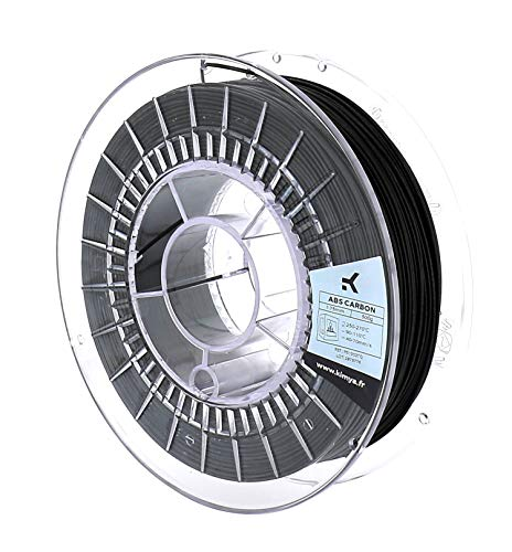KIMYA - 3D Printer ABS Carbon Fibers Filament - 1.75mm - 500g...