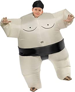 Inflatable Sumo Wrestler Wrestling Costume Halloween Costume for Adults and Kids Inflatable Costumes Cosplay