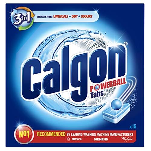 Calgon waterontharder wasmachine tabs 2 in 1 & reinigt 15 tabs