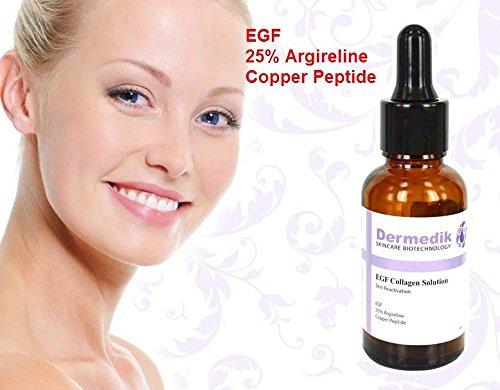 EGF 25% ARGIRELINE Kupfer-Peptid Anti-Falten-CONFIRM anhebende Kollagen SERUM 1 Unze/30 ml