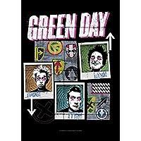 GREEN DAY グリーンデイ (デビュー30周年記念) - Uno Dos Tres/ファブリック/タペストリー 【公式/オフィシャル】