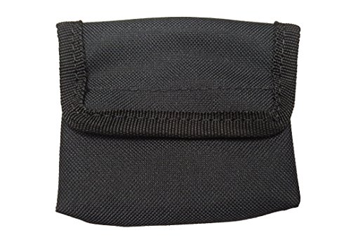 LINE2design Latex Glove Pouch Black - EMS EMT Firefighter Police Medical Glove Holder | Holds 6 - Pairs of Disposable Gloves