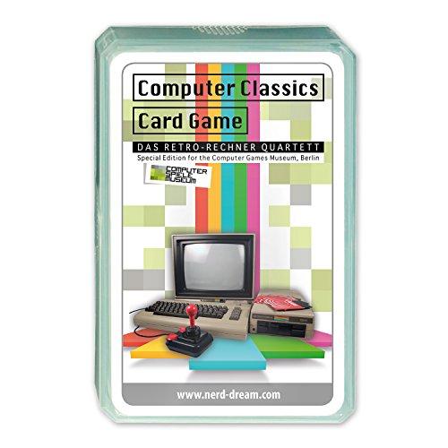 Retro Rechner Quartett QUAI028 Strategiespiel