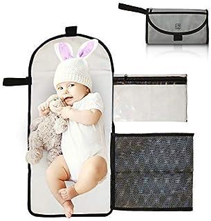 Impermeable Cambiador port/átil para Viajar Cambiador para beb/és Bolso Cambiador Kentop
