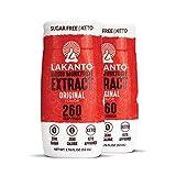 Lakanto Liquid Monkfruit Extract Drops - Zero Calorie, Zero Sugar, Keto Drink Sweetener, Sugar Substitute, On the Go, Tea, Coffee, Water, Smoothies, Other Drinks (Original - 1.76 Fl Oz - Pack of 2)